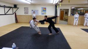 Kiri's Sandan and Chris' Nidan Black Belt Grading