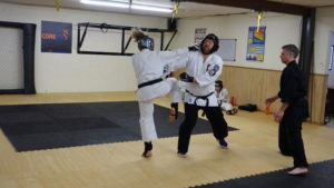 Kiri's Sandan and Chris' Nidan Black Belt Grading